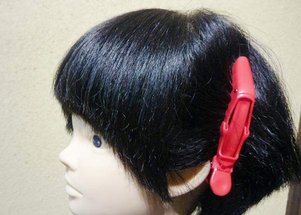 前髪セルフカット2